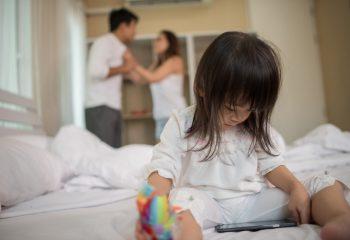 Evlilikteki Kavgalar Çocuklara Ne Yapar