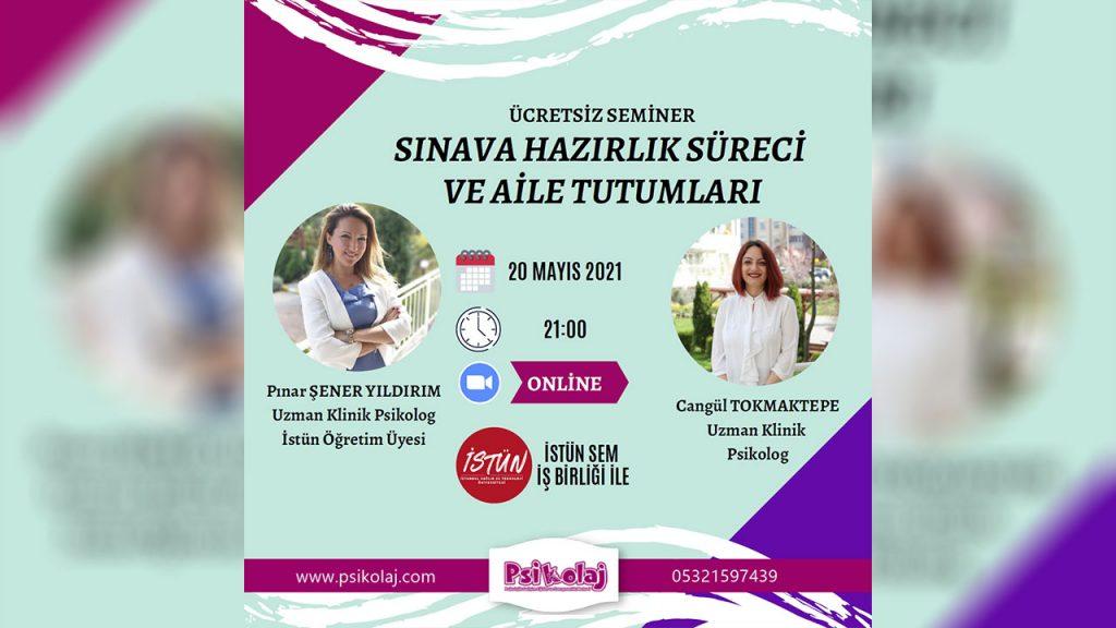 """""""Sınava Hazırlık Süreci ve Aile Tutumları"""" semineri"""