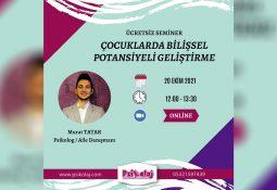 """""""Çocuklarda Bilişsel Potansiyeli Geliştirme"""" semineri"""