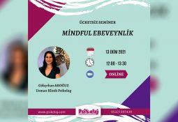 """""""Mindful Ebeveynlik"""" semineri"""